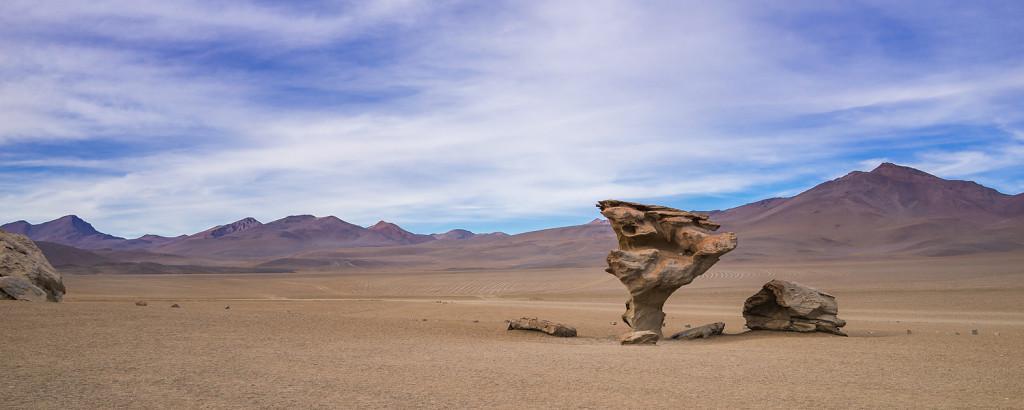 Arbol de Piedra in Bolivien