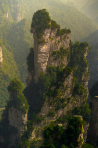 Avatar Mountains in China: Zhangjiajie National Forest Park