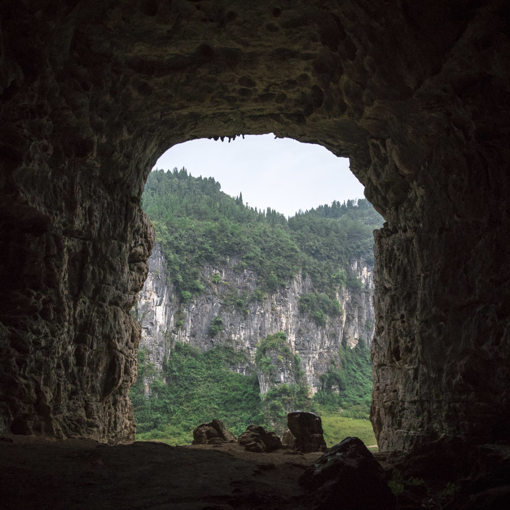 Betel Nut Cave im Betel Valley - Zhangjiajie / China © PhotoTravelNomads.com