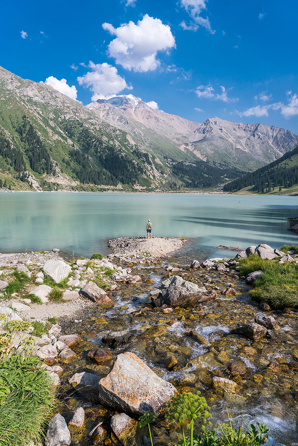Big Almaty Lake Landscape