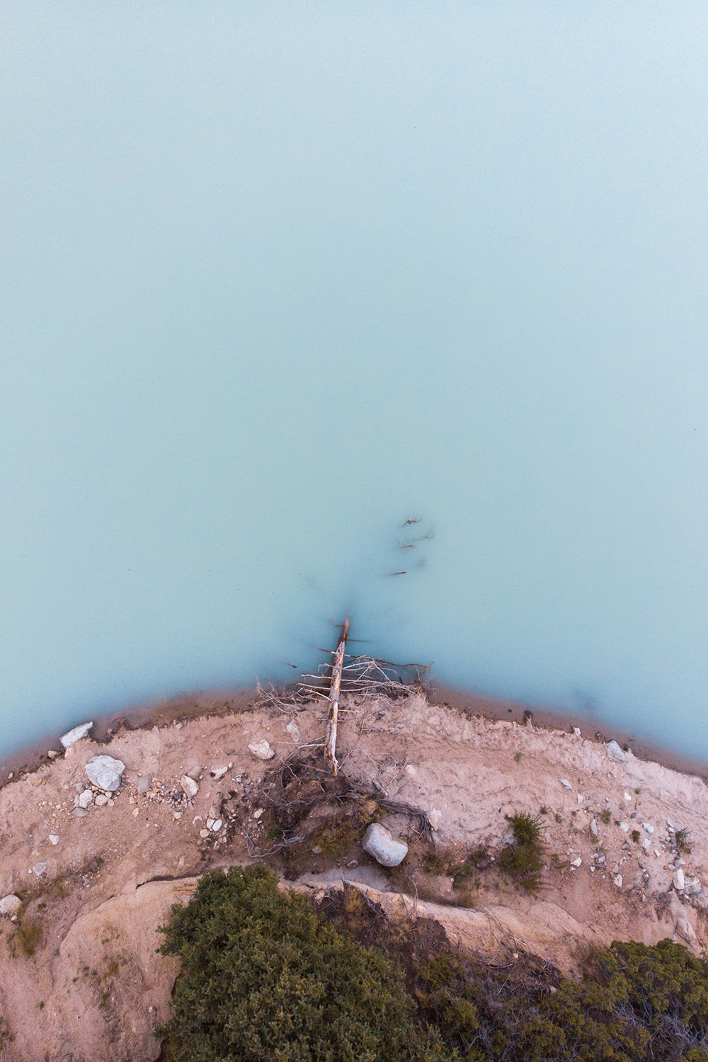 Big Almaty Lake Drone