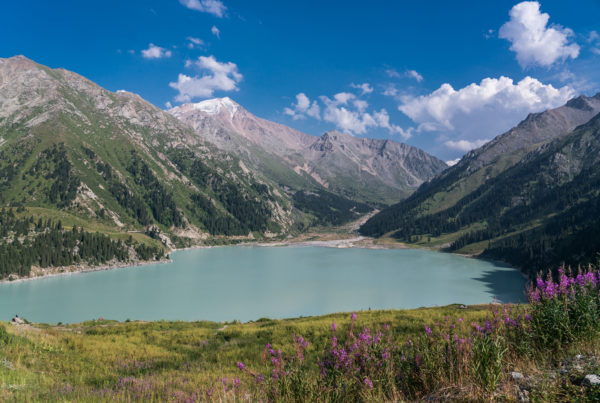 Big Almaty Lake in Kasachstan