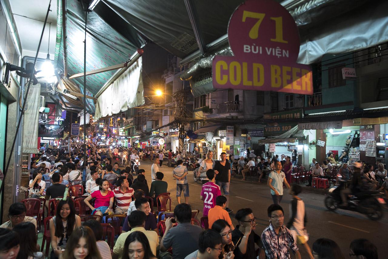 Bui Vien Street - Ho Chi Minh ©PhotoTravelNomads.com