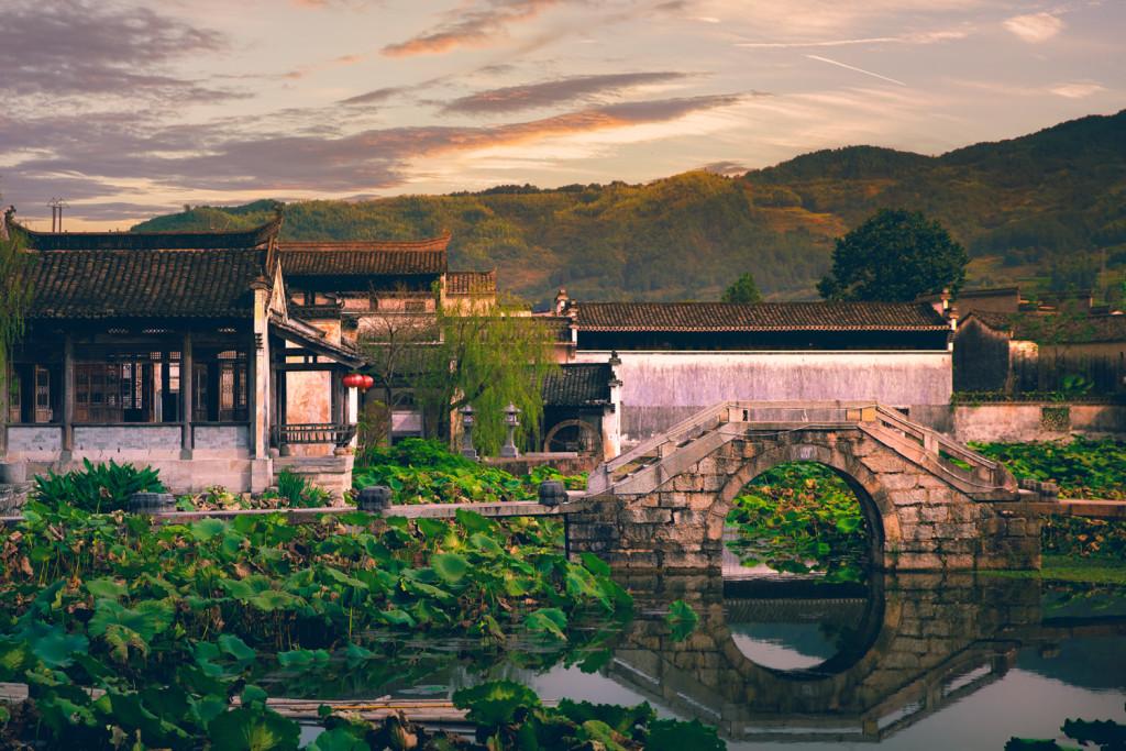 Changkan Ancient Village bei Tunxi (Huangshan/Anhui) - © PhotoTravelNomads.com
