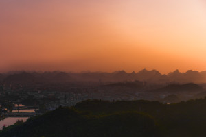 Wonderful Sunset in Guilin (Guizhou / China) © PhotoTravelNomads.com