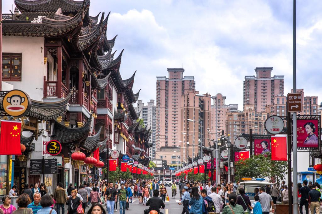 Yuyuan Old Street in Shanghai © PhotoTravelNomads.com