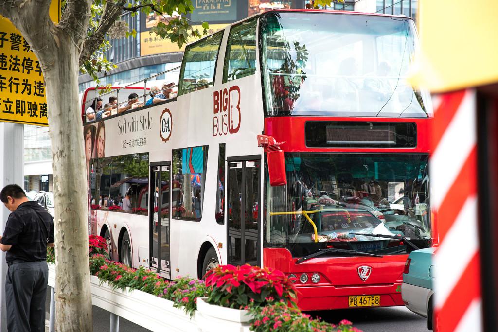 Sightseeing Bus Tour in Shangai mit Big Bus © PhotoTravelNomads.com