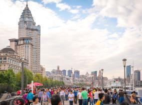 Shanghai China Reiseblog: The Bund Promenade © PhotoTravelNomads.com
