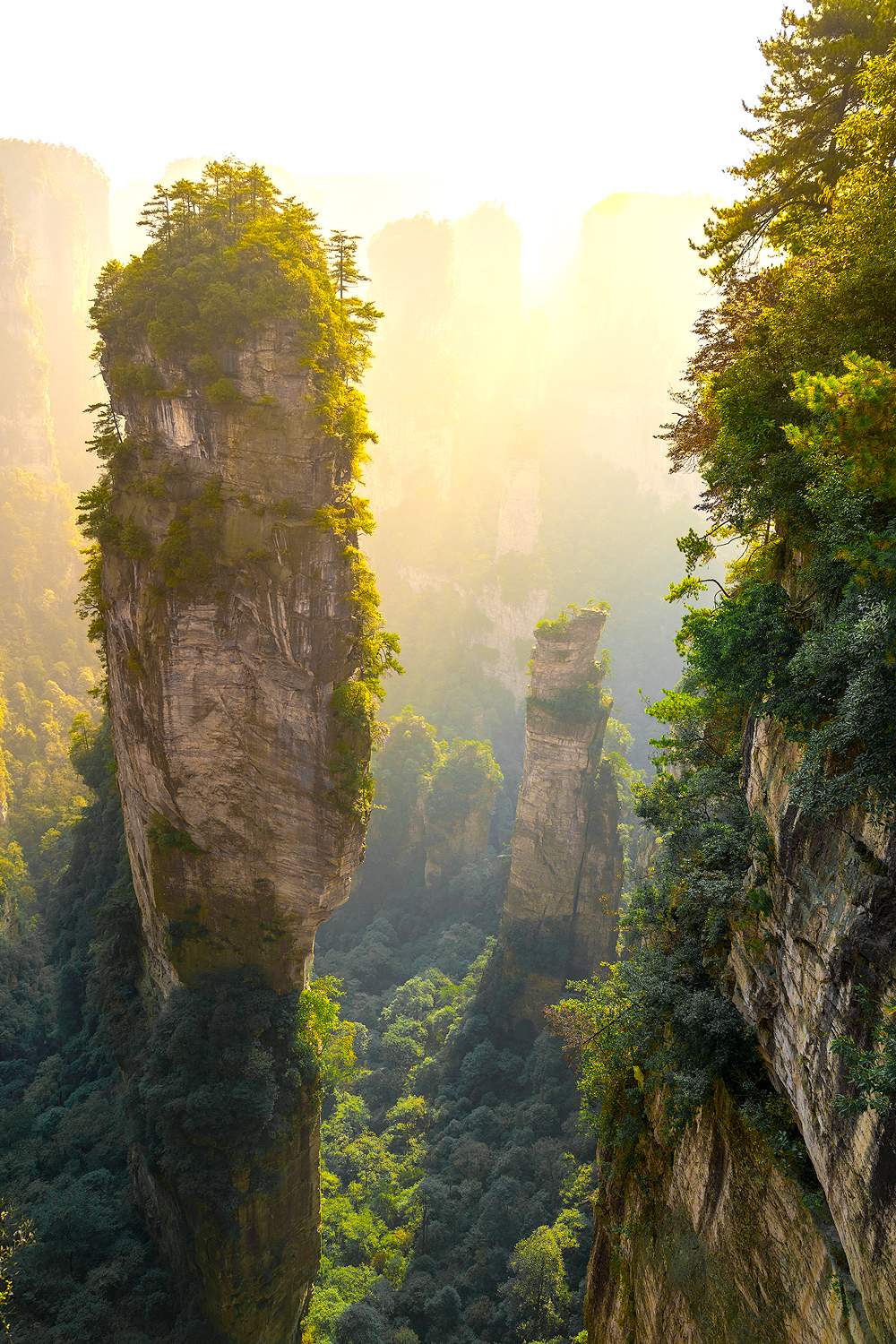 Avatar Mountains - Zhangjiajie National Forest Park - China © PhotoTravelNomads.com