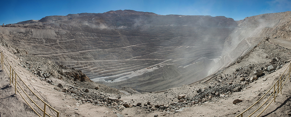 Chuquicamata Mine Panorama © Photo by Berg2