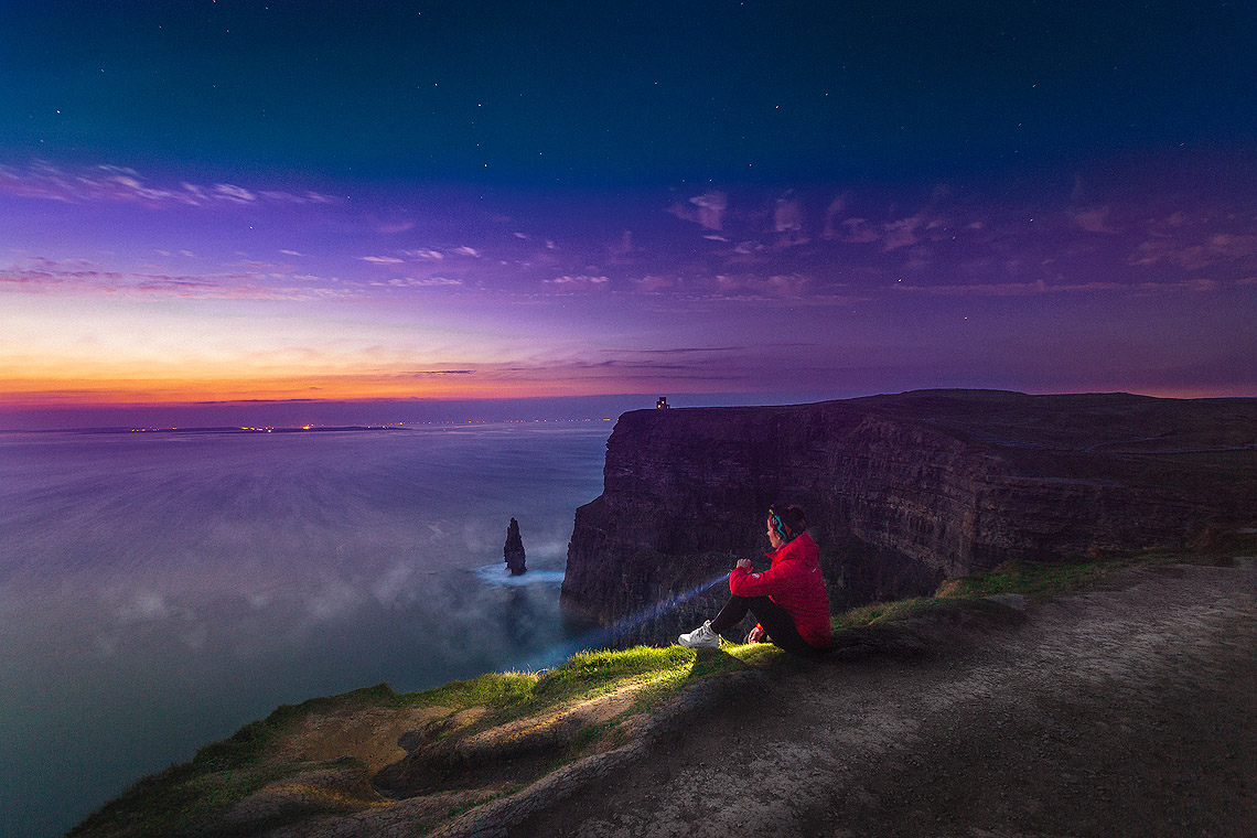 Cliffs of Moher Night - Irland Reiseblog © PhotoTravelNomads.com