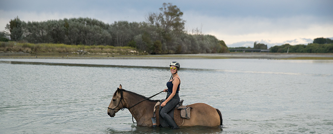 River Crossing & Horse Riding Clive © PhotoTravelNomads.com