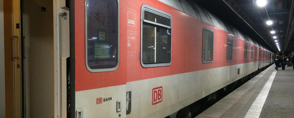 Deutsche Bahn Nachtzug - DB Nightliner ©PhotoTravelNomads.com