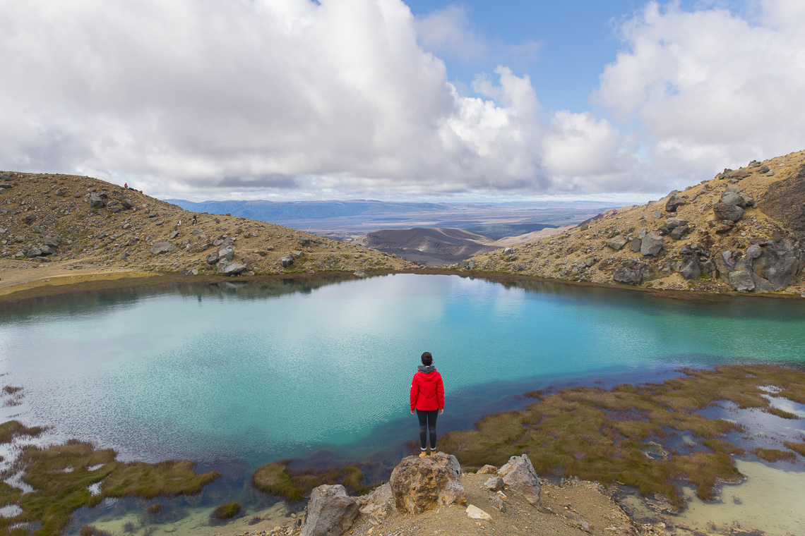 Emerald Lakes bei der Tongariro Alpine Crossing