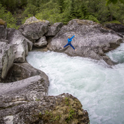 FlatEarth White Water Jumping © PhotoTravelNomads.com