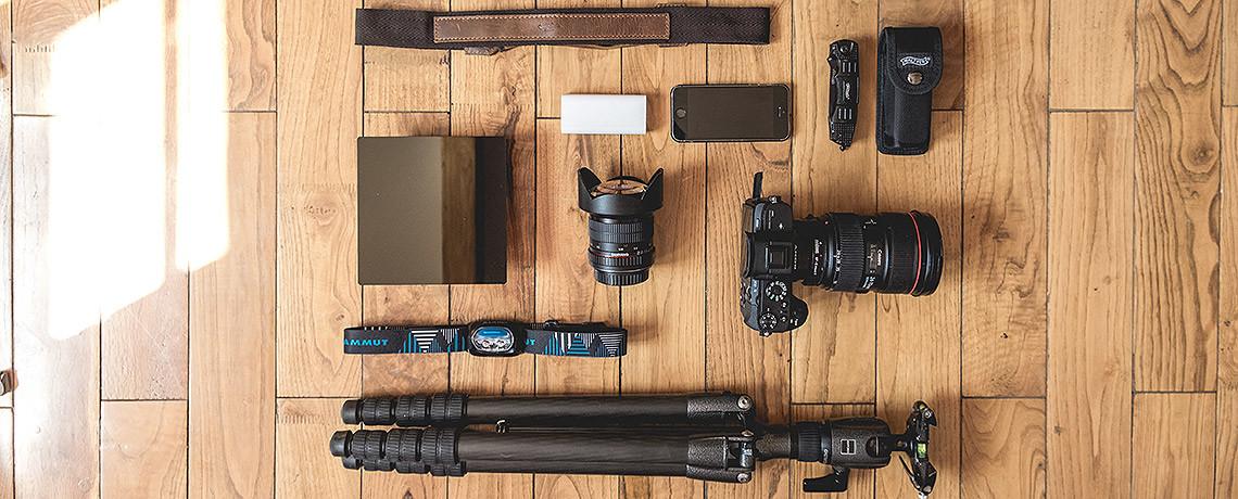 Reise Fotoausrüstung Teaser © PhotoTravelNomads.com