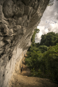 Gomantong Cave - Walkway to the Mountain © PhotoTravelNomads.com