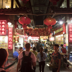 Food Street in Guilin © PhotoTravelNomads.com