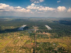 Angkor Wat Helicopter Tour - Die Tempel in Siem Reap von oben © PhotoTravelNomads.com