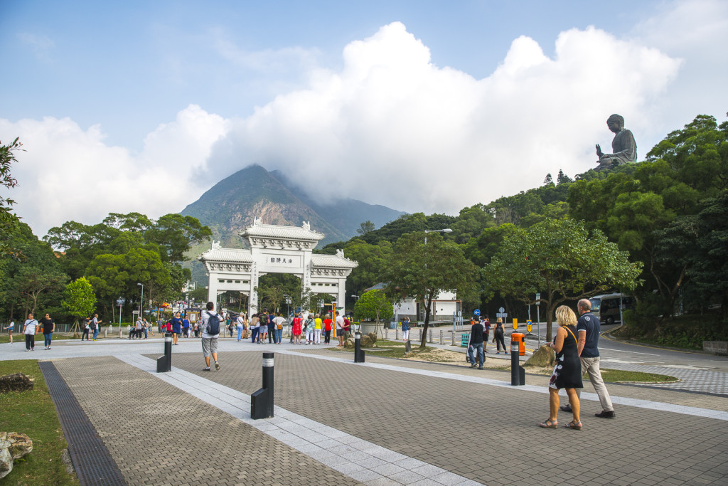 3 Tage in Hong Kong - Tag 1.) Big Buddha Lantau Island in Hong Kong