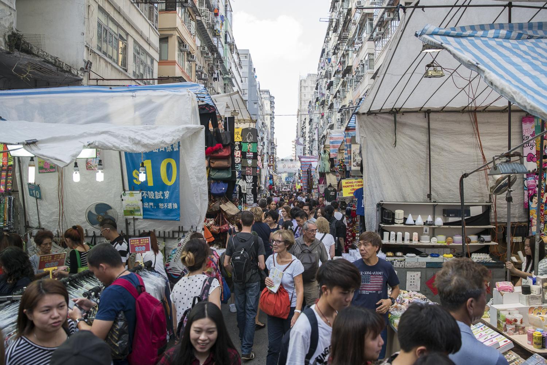 Ladies Market in Hong Kong