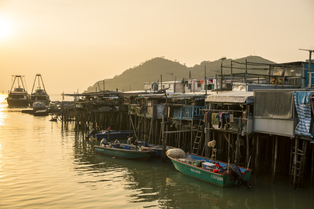Tai O Fisher Village in Hong Kong © PhotoTravelNomads.com