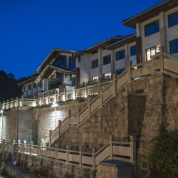 Xihai Hotel at Night ©PhotoTravelNomads.com