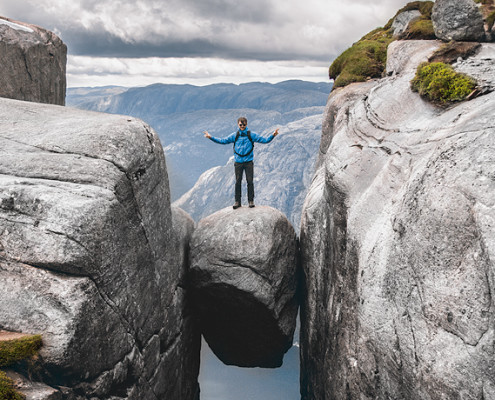 Kjeragbolten Norway © PhotoTravelNomads.com