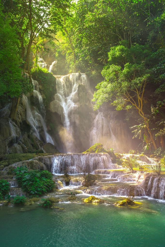 Kuang Si Waterfall Luang Prabang Laos Reisebericht © PhotoTravelNomads.com