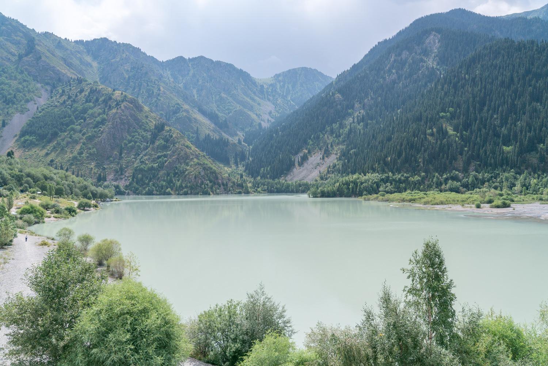 Lake Issyk Kasachstan