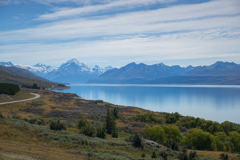 Neuseeland Reiseroute Südinsel 3 Wochen: Dritte Übernachtung am Lake Pukaki