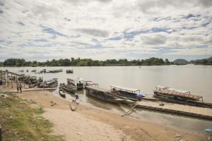 Laos Reiseblog: 4000 Islands Nakasong Hafen © PhotoTravelNomads.com