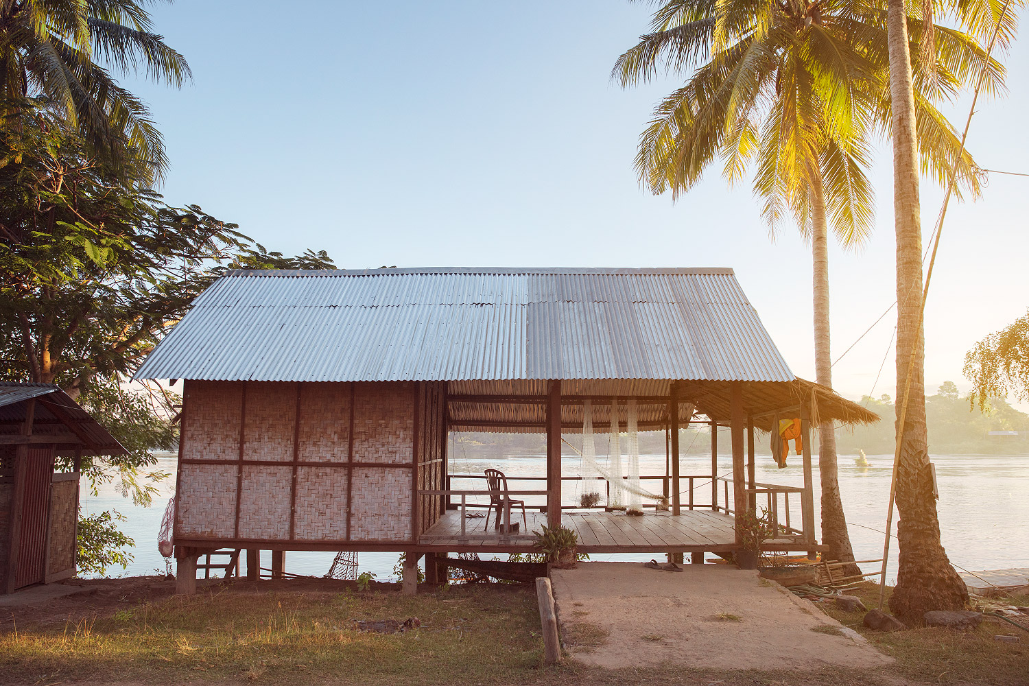 Laos Reiseblog: River House auf Don Det in den 4000 Islands © PhotoTravelNomads.com