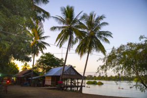 Laos Reiseblog: Streets auf Don Det in den 4000 Islands © PhotoTravelNomads.com