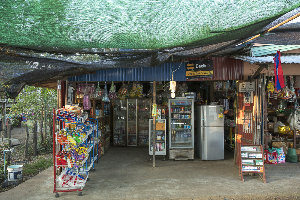 Laos Reiseblog: Super Market auf Don Det in den 4000 Islands © PhotoTravelNomads.com