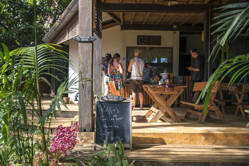 Koffies Coffe Workshop in Laos