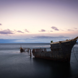 Lord Londsdale Shipwreck in Punta Arenas Chile © PhotoTravelNomads.com