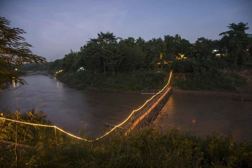 Luang Prabang Bamboo Bridge ©PhotoTravelNomads.com