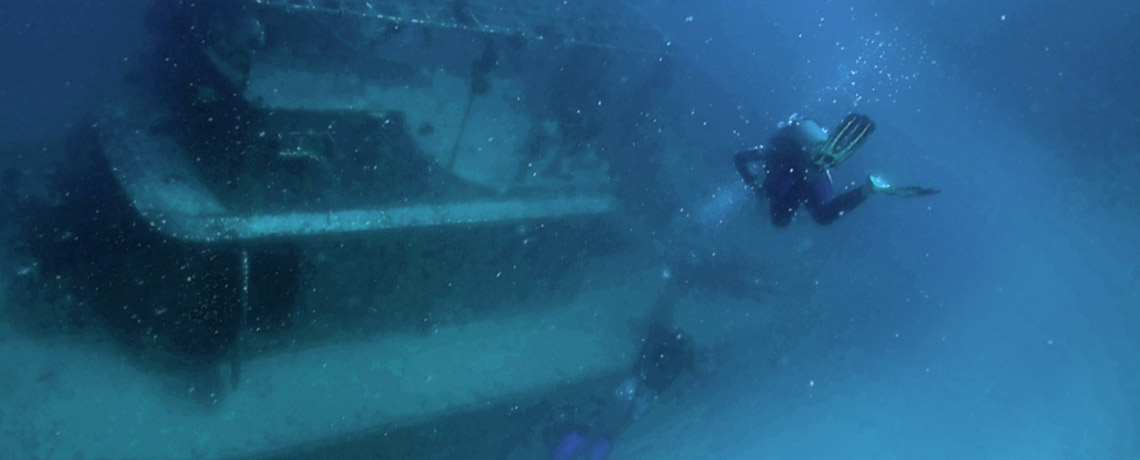 Mabul Shipwreck Dive ©PhotoTravelNomads.com