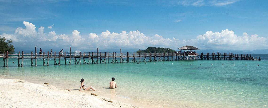 Manukan Island bei Kota Kinabalu