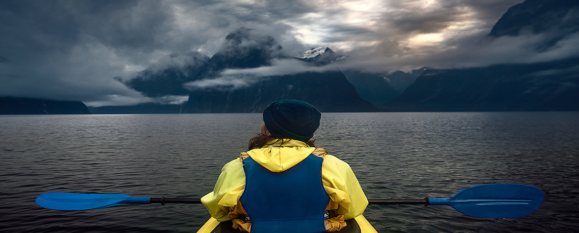 Milford Sound Kayaking Morning Glory Tour © PhotoTravelNomads.com