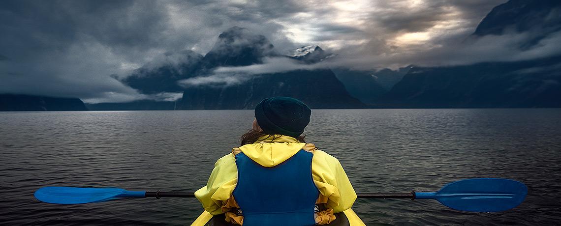 Milford Sound Kayaking Morning Glory Tour © PhotoTravelNomads.com