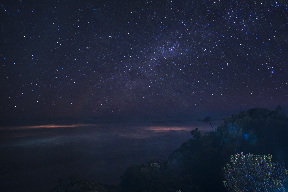 Mount Kinabalu Night Sky © PhotoTravelNomads.com