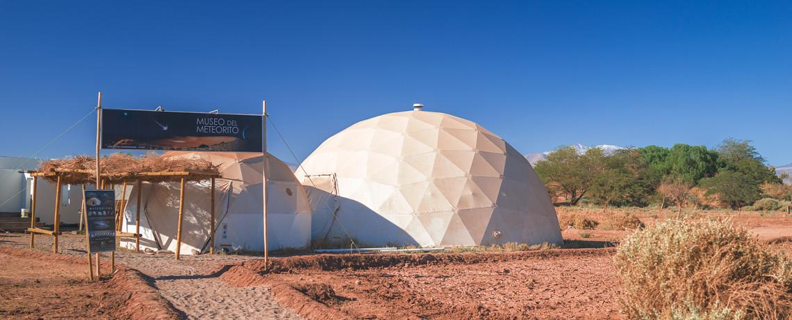 Chile Reiseblog: Sehenswürdigkeiten San Pedro de Atacama - Museo del Meteorito © PhotoTravelNomads.com