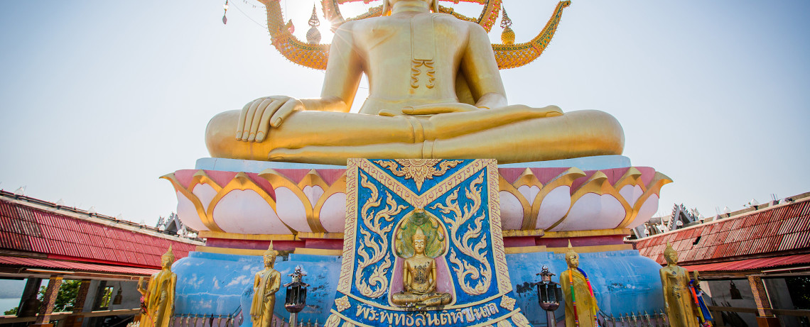 Thailand Reiseblog: Big Buddha Temple in Ko Samui © PhotoTravelNomads.com