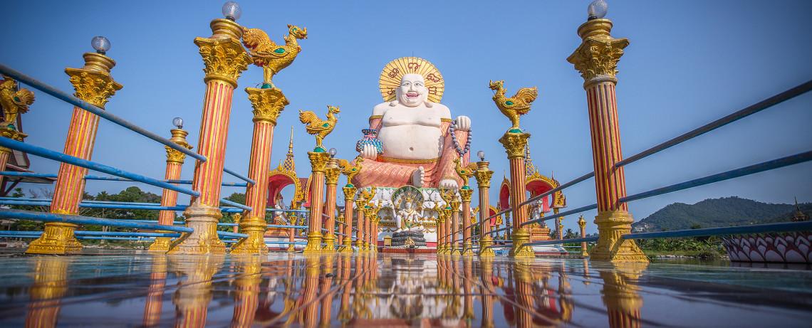 Thailand Reiseblog: Wat Plai Laem in Ko Samui ©PhotoTravelNomads.com