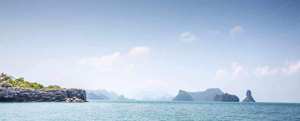 Thailand Reiseblog: Angthong National Marine Park ©PhotoTravelNomads.com