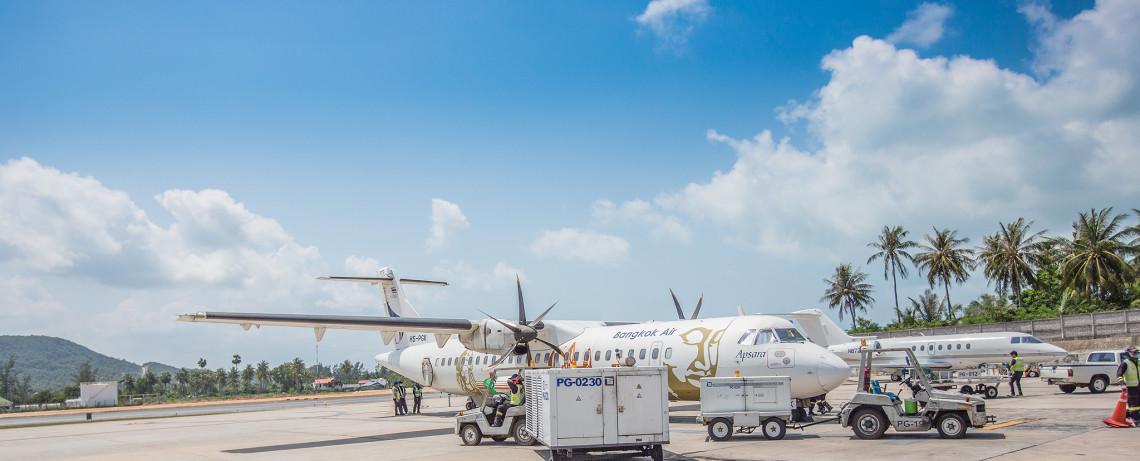 Thailand Reiseblog: Flughafen Ko Samui ©PhotoTravelNomads.com