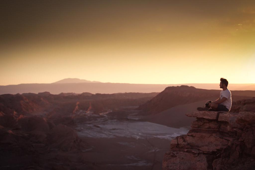 Chile Reiseblog : San Pedro de Atacama Sehenswürdigkeiten - Moon Valley  © PhotoTravelNomads.com