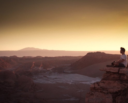 San Pedro de Atacama Sehenswürdigkeiten  - Moon Valley - Chile Reiseblog © PhotoTravelNomads.com